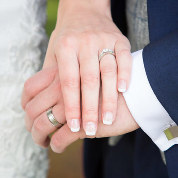 Platinum wedding rings Birmingham